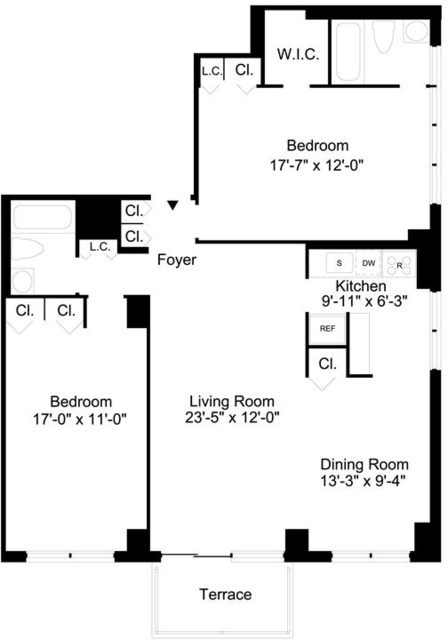 2 Bedrooms, Upper East Side Rental in NYC for $5,862 - Photo 2