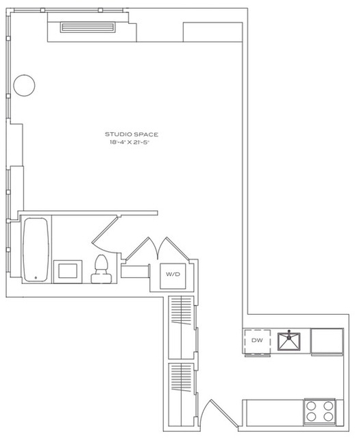 Studio, Lincoln Square Rental in NYC for $2,685 - Photo 2