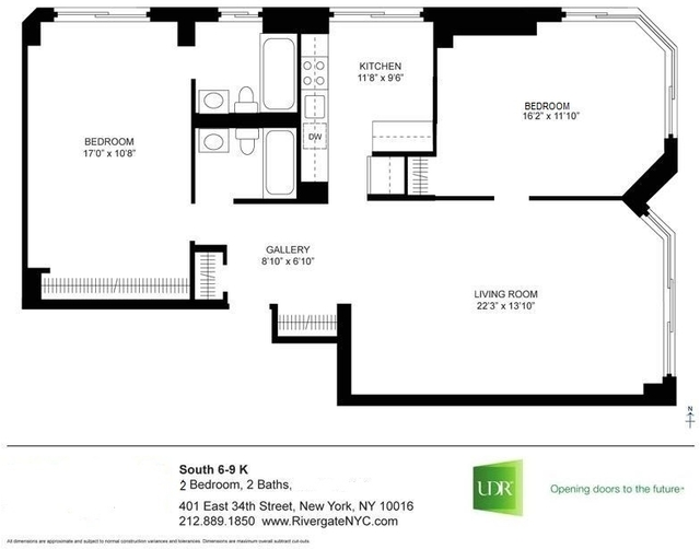 1 Bedroom, Murray Hill Rental in NYC for $4,775 - Photo 2
