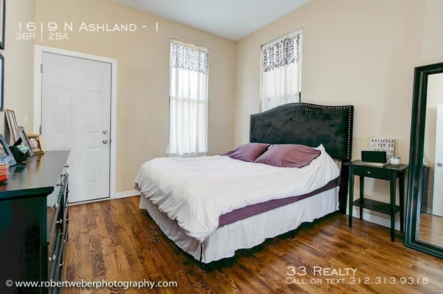 3 Bedrooms, Bucktown Rental in Chicago, IL for $2,400 - Photo 1