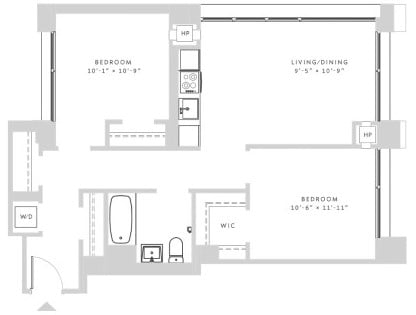2 Bedrooms, Morningside Heights Rental in NYC for $5,395 - Photo 2
