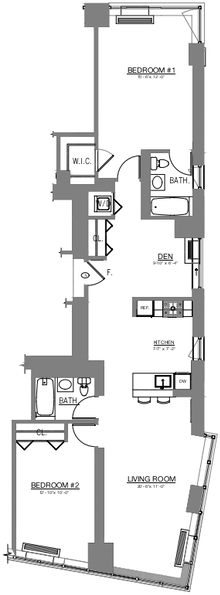 2 Bedrooms, Theater District Rental in NYC for $7,995 - Photo 2