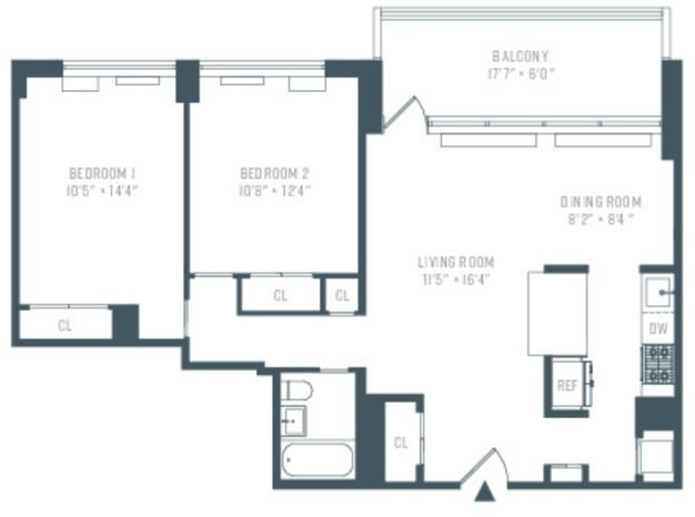 2 Bedrooms, Manhattan Valley Rental in NYC for $5,050 - Photo 1