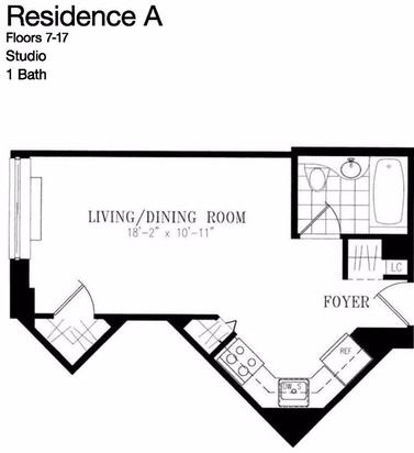 Studio, NoMad Rental in NYC for $2,723 - Photo 2