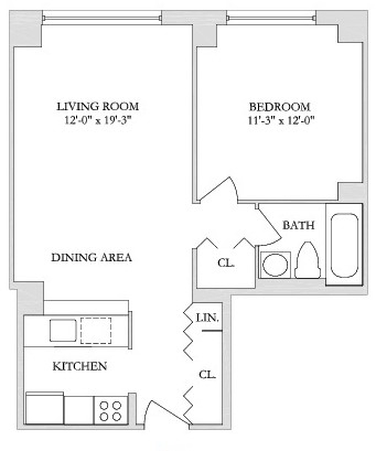 2 Bedrooms, Yorkville Rental in NYC for $2,458 - Photo 2