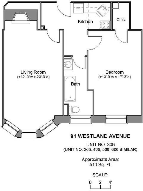 1 Bedroom, Fenway Rental in Boston, MA for $2,590 - Photo 1