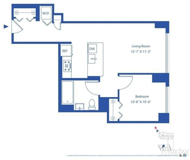 1 Bedroom, Astoria Rental in NYC for $2,598 - Photo 2
