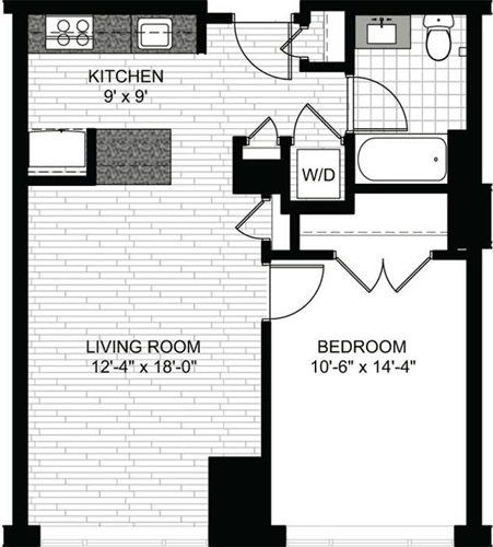 1 Bedroom, Downtown Boston Rental in Boston, MA for $2,690 - Photo 2