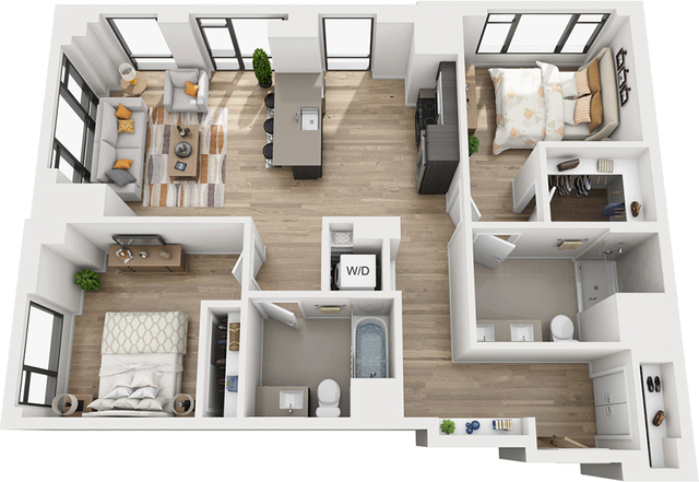 2 Bedrooms, Shawmut Rental in Boston, MA for $4,870 - Photo 1