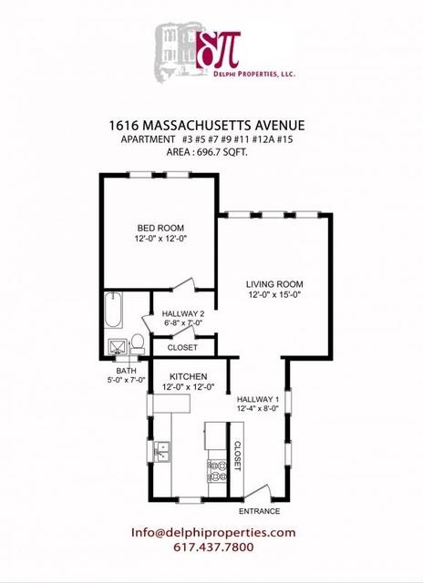 1 Bedroom, Neighborhood Nine Rental in Boston, MA for $2,150 - Photo 1