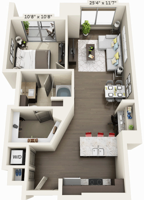 1 Bedroom, Seaport District Rental in Boston, MA for $3,299 - Photo 1