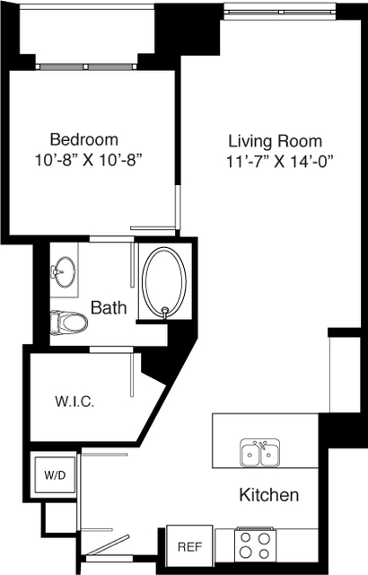 1 Bedroom, Seaport District Rental in Boston, MA for $3,299 - Photo 2