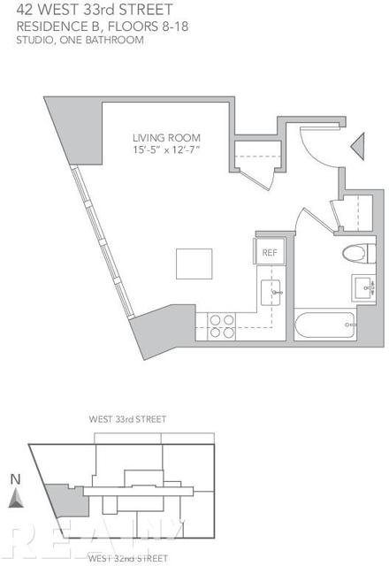 Studio, Koreatown Rental in NYC for $2,895 - Photo 2