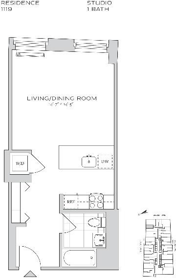 Studio, Financial District Rental in NYC for $2,658 - Photo 2