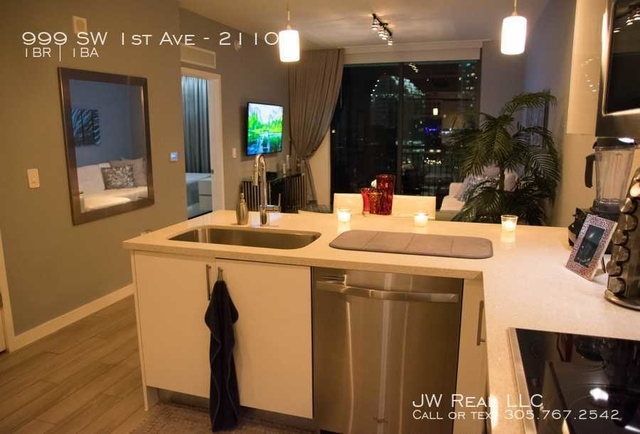 1 Bedroom, Mary Brickell Village Rental in Miami, FL for $2,300 - Photo 2