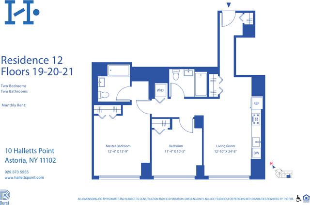 2 Bedrooms, Astoria Rental in NYC for $3,829 - Photo 2