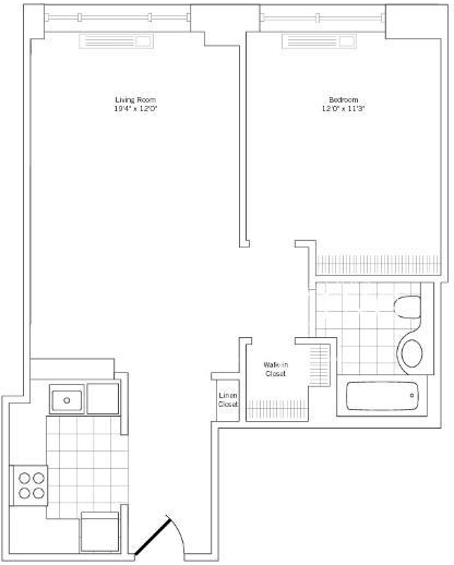 Studio, Rose Hill Rental in NYC for $3,236 - Photo 2
