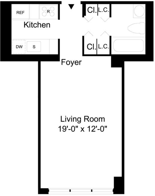 Studio, Upper East Side Rental in NYC for $2,533 - Photo 2
