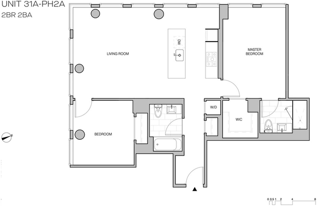 2 Bedrooms, Williamsburg Rental in NYC for $7,106 - Photo 2
