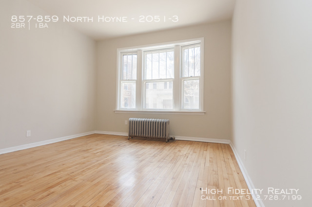 2 Bedrooms, Ukrainian Village Rental in Chicago, IL for $1,850 - Photo 2