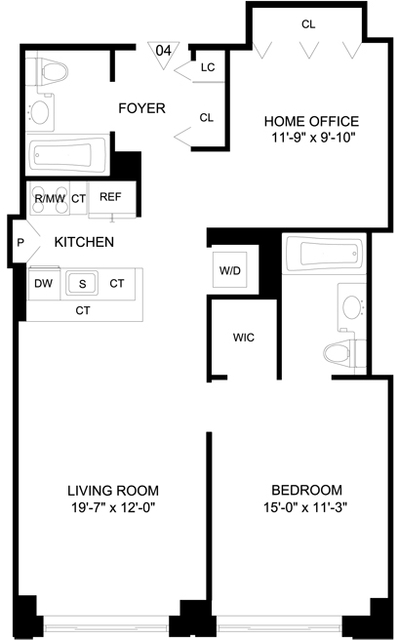 1 Bedroom, Garment District Rental in NYC for $4,165 - Photo 2