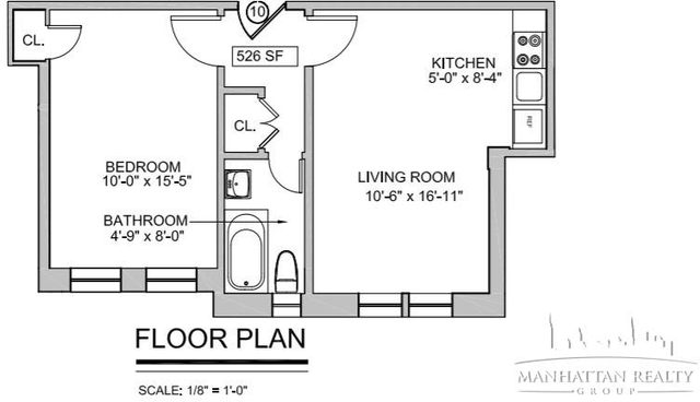 2 Bedrooms, West Village Rental in NYC for $4,904 - Photo 1