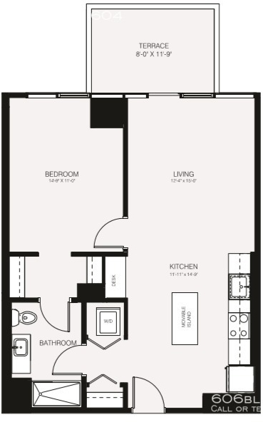 1 Bedroom, Bucktown Rental in Chicago, IL for $2,395 - Photo 2