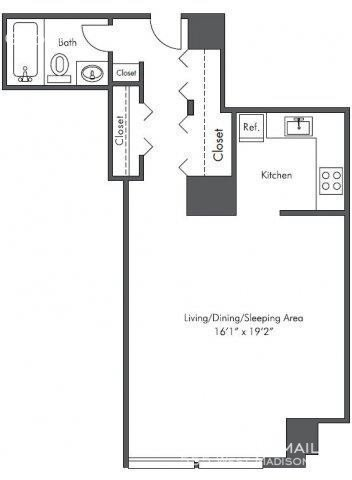 Studio, West Loop Rental in Chicago, IL for $1,385 - Photo 2