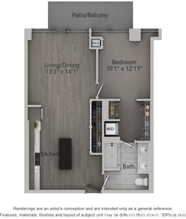 1 Bedroom, Fulton Market Rental in Chicago, IL for $2,609 - Photo 2