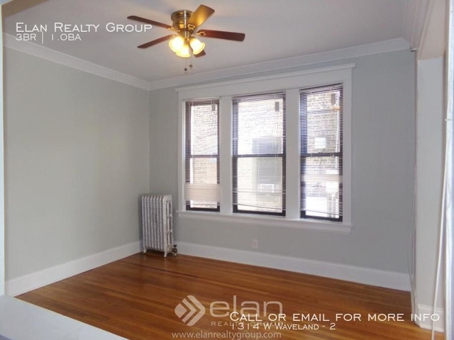 3 Bedrooms, Lakeview Rental in Chicago, IL for $1,950 - Photo 1