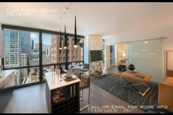 2 Bedrooms, The Loop Rental in Chicago, IL for $3,735 - Photo 2