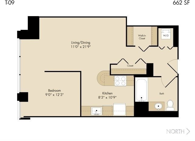 Studio, The Loop Rental in Chicago, IL for $1,820 - Photo 1