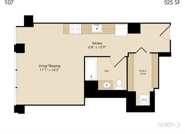 Studio, The Loop Rental in Chicago, IL for $1,810 - Photo 1