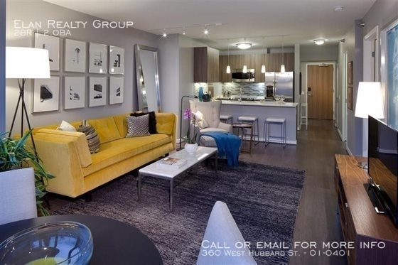 2 Bedrooms, River North Rental in Chicago, IL for $3,932 - Photo 1