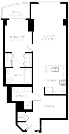 1 Bedroom, South Loop Rental in Chicago, IL for $2,355 - Photo 1