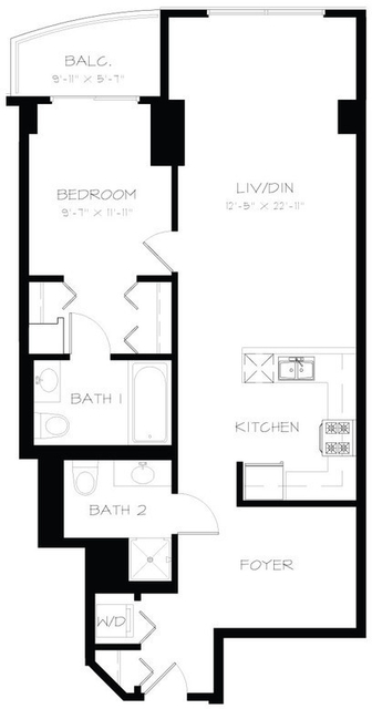 1 Bedroom, South Loop Rental in Chicago, IL for $2,310 - Photo 2