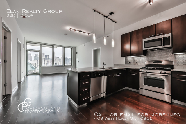 3 Bedrooms, River North Rental in Chicago, IL for $4,391 - Photo 1