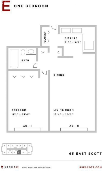 1 Bedroom, Gold Coast Rental in Chicago, IL for $1,700 - Photo 2