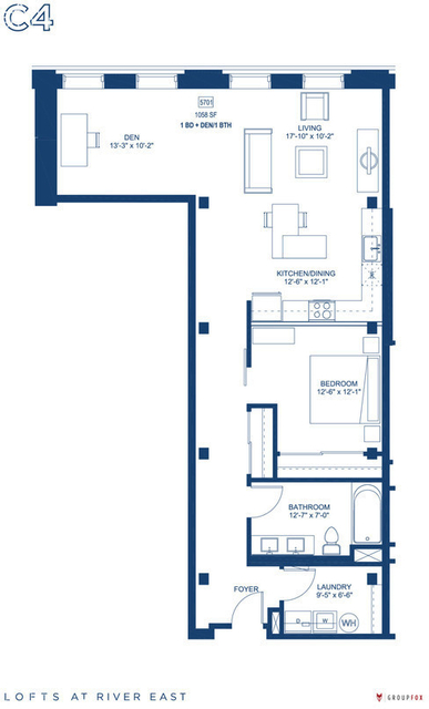 1 Bedroom, Streeterville Rental in Chicago, IL for $3,215 - Photo 2