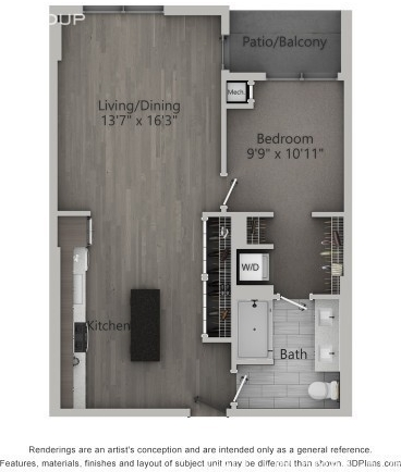 1 Bedroom, Fulton Market Rental in Chicago, IL for $2,634 - Photo 2