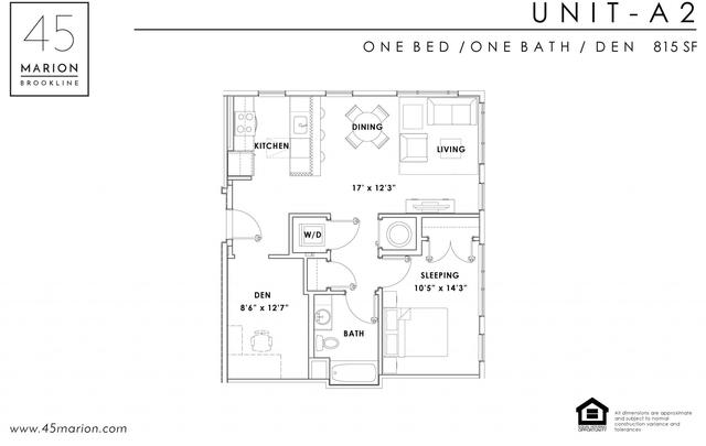 1 Bedroom, Coolidge Corner Rental in Boston, MA for $3,660 - Photo 2