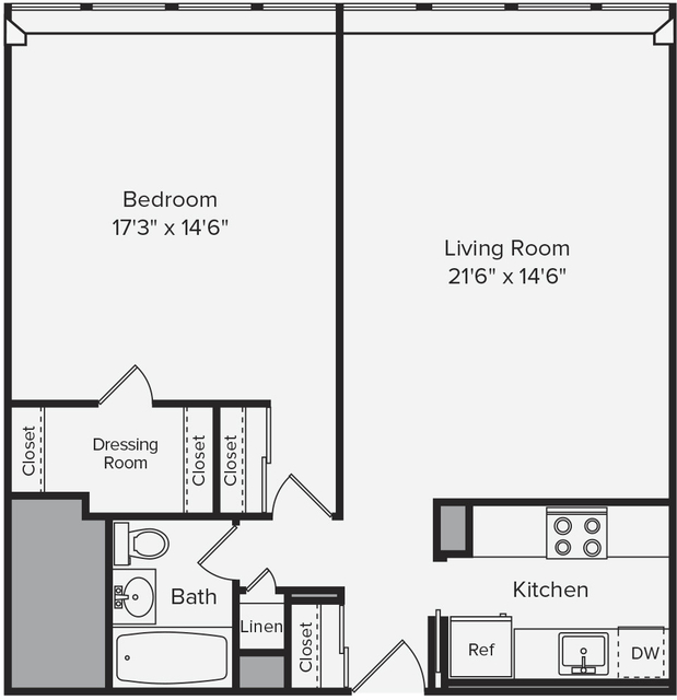 1 Bedroom, Prudential - St. Botolph Rental in Boston, MA for $3,015 - Photo 1