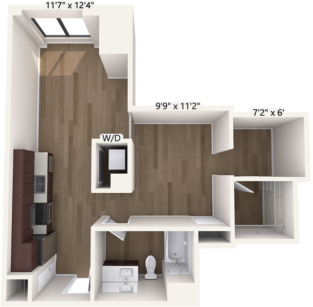 Studio, Chinatown - Leather District Rental in Boston, MA for $2,695 - Photo 1