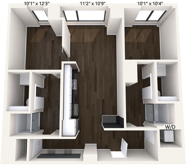 2 Bedrooms, Chinatown - Leather District Rental in Boston, MA for $4,030 - Photo 1