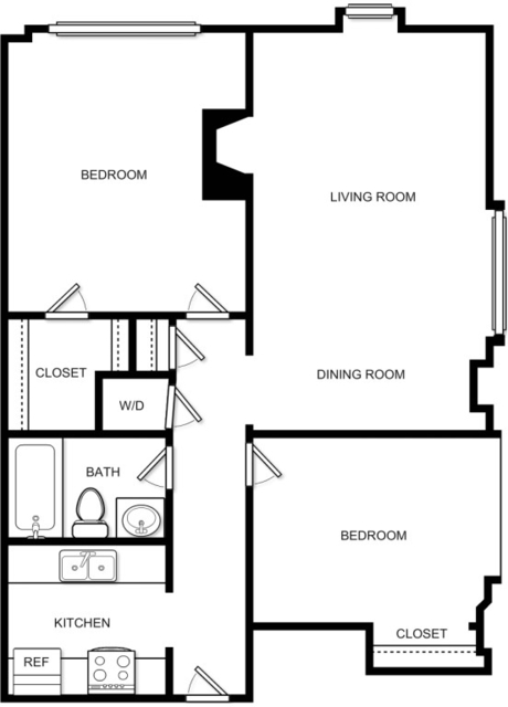 2 Bedrooms, Prudential - St. Botolph Rental in Boston, MA for $3,889 - Photo 2