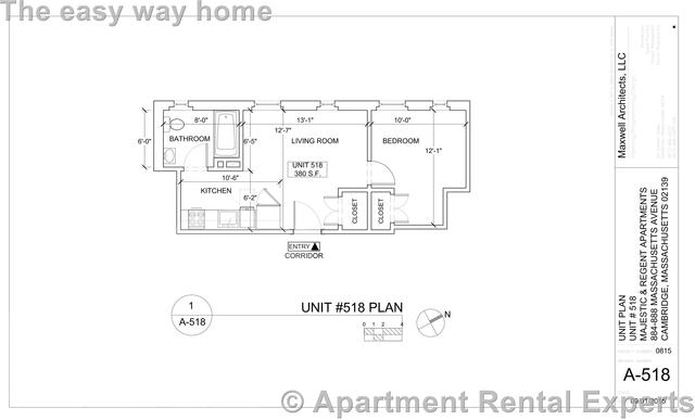 1 Bedroom, Riverside Rental in Boston, MA for $2,245 - Photo 2
