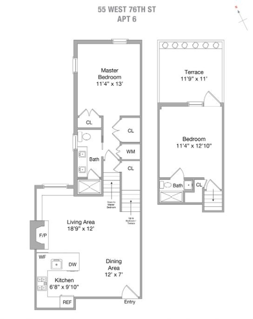2 Bedrooms, Upper West Side Rental in NYC for $5,745 - Photo 2