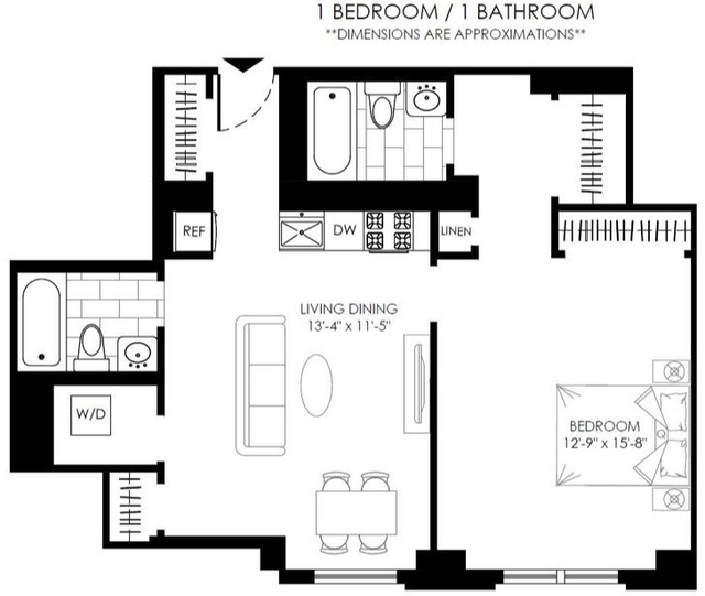 1 Bedroom, Upper West Side Rental in NYC for $3,550 - Photo 2