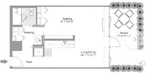 Studio, Stapleton Rental in NYC for $1,704 - Photo 2