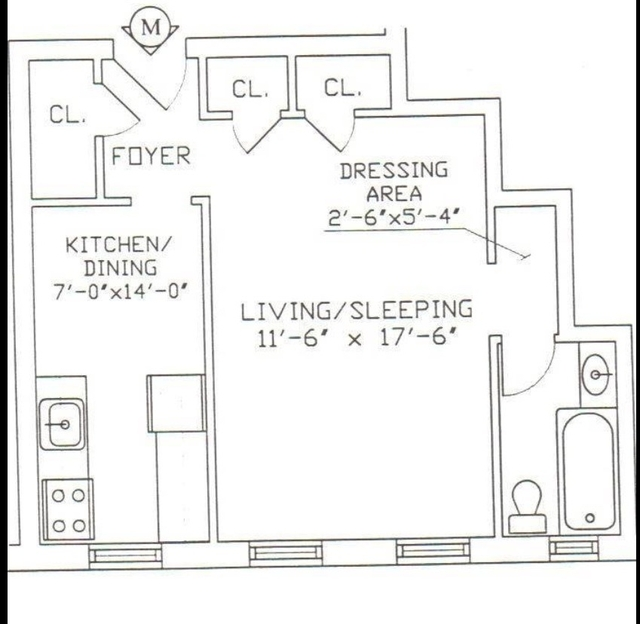Studio, Hudson Heights Rental in NYC for $1,695 - Photo 2